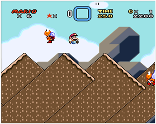 chocolate island 2 super mario world