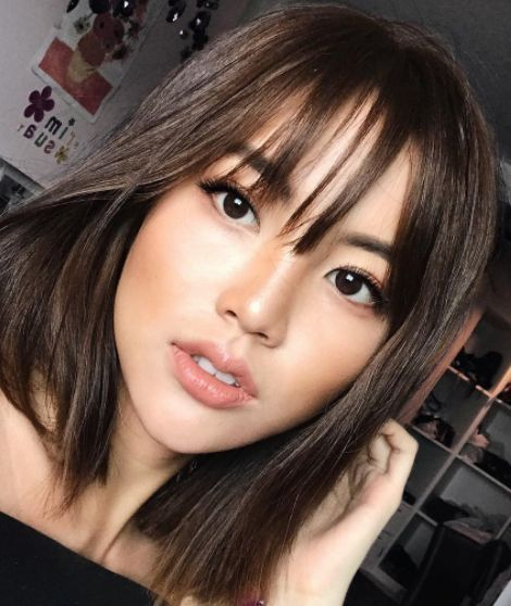 18 Most Romantic Hairstyles With Bangs 2018 2019 Fashionre