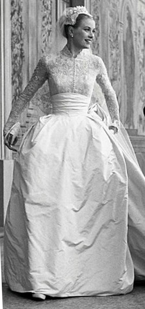 Grace Kelly's wedding pictures