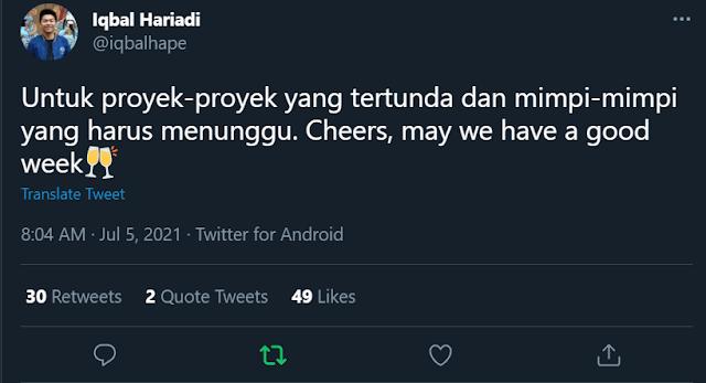 tweet iqbal hariadi