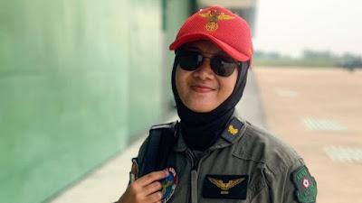 Mengenal Letda Ayu, Penerbang TNI AD Asal Pontianak
