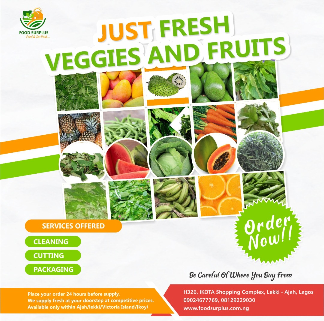Get FRESH Vegetable And Fruits Around You Now