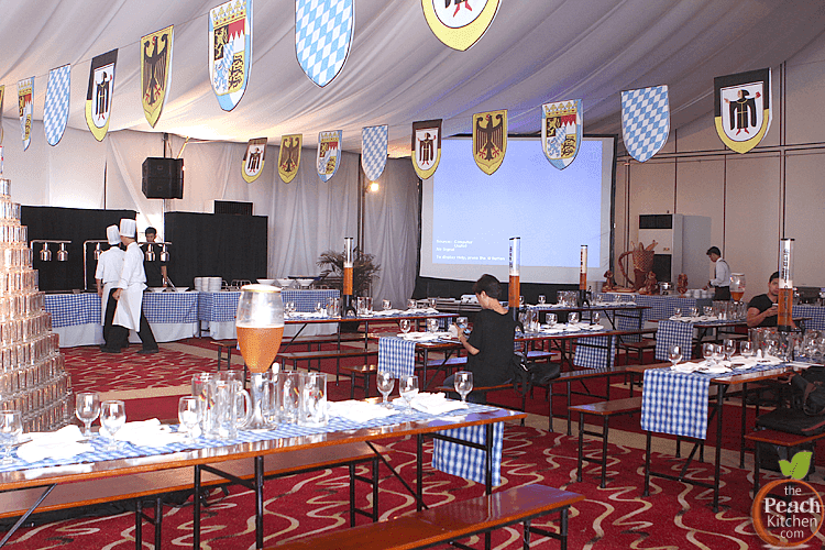 76th Oktoberfest 2014 at Sofitel Manila. The Harbor Garden Tent ... & 76th Oktoberfest 2014 at Sofitel Manila | The Peach Kitchen