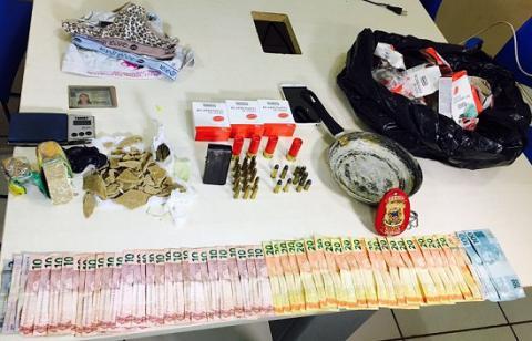 Polícia Civil desarticula ponto de tráfico de drogas em Altamira.