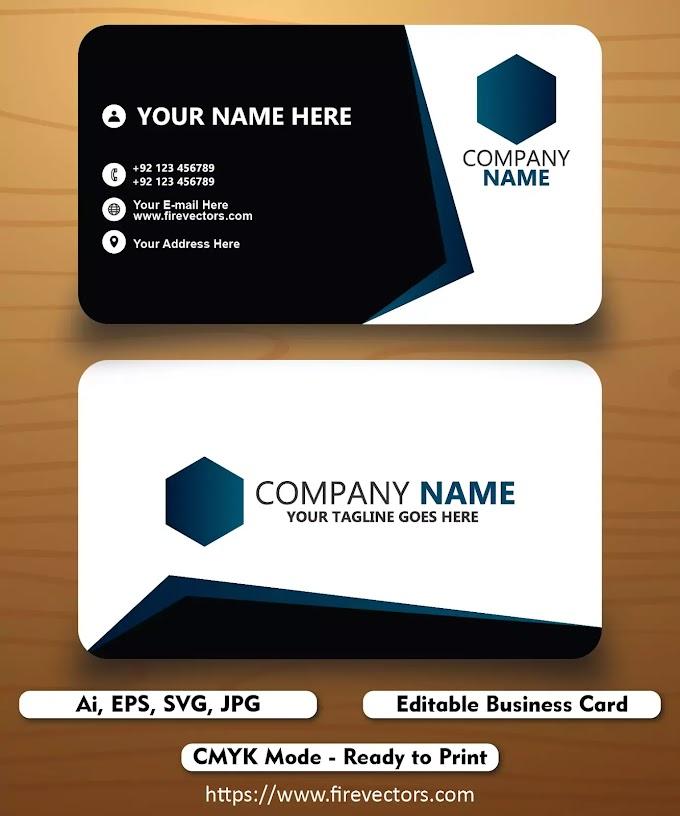Business Card Template Ai - 06