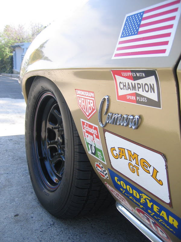 1969 Wheel And Tire Combo S Team Camaro Tech