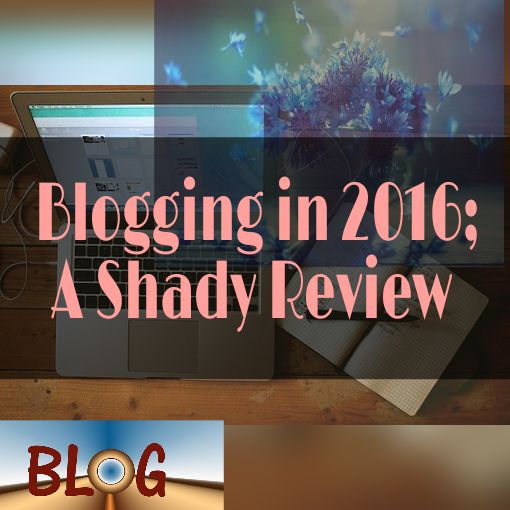 2016 blogging review
