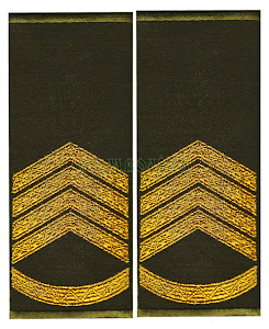 Погони-муфти ЗСУ Перший сержант повсякденні