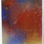 o.T. Acrylglas bemalt, Versuch 2007