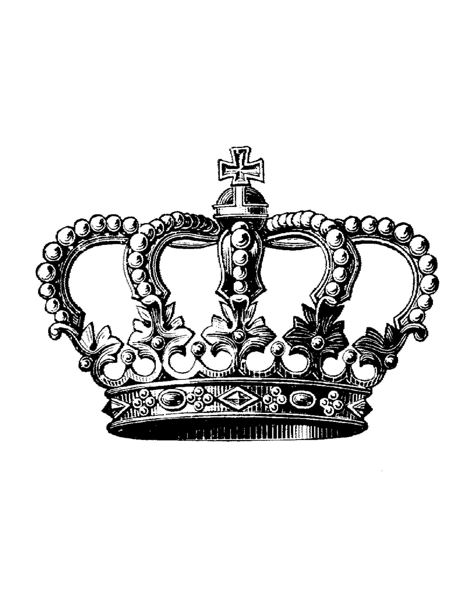 royal queen crown logo