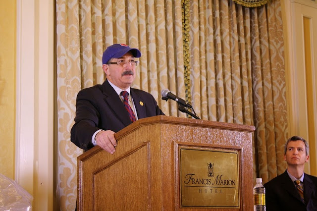 A. Peter Shahid Jr. eulogizes H. Stanley Feldman, who was an avid baseball fan.