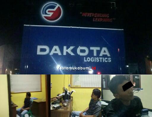 Truk Pembawa 15 Ribu Botol Miras Ditangkap Polisi di Parungkuda - Sukabumi