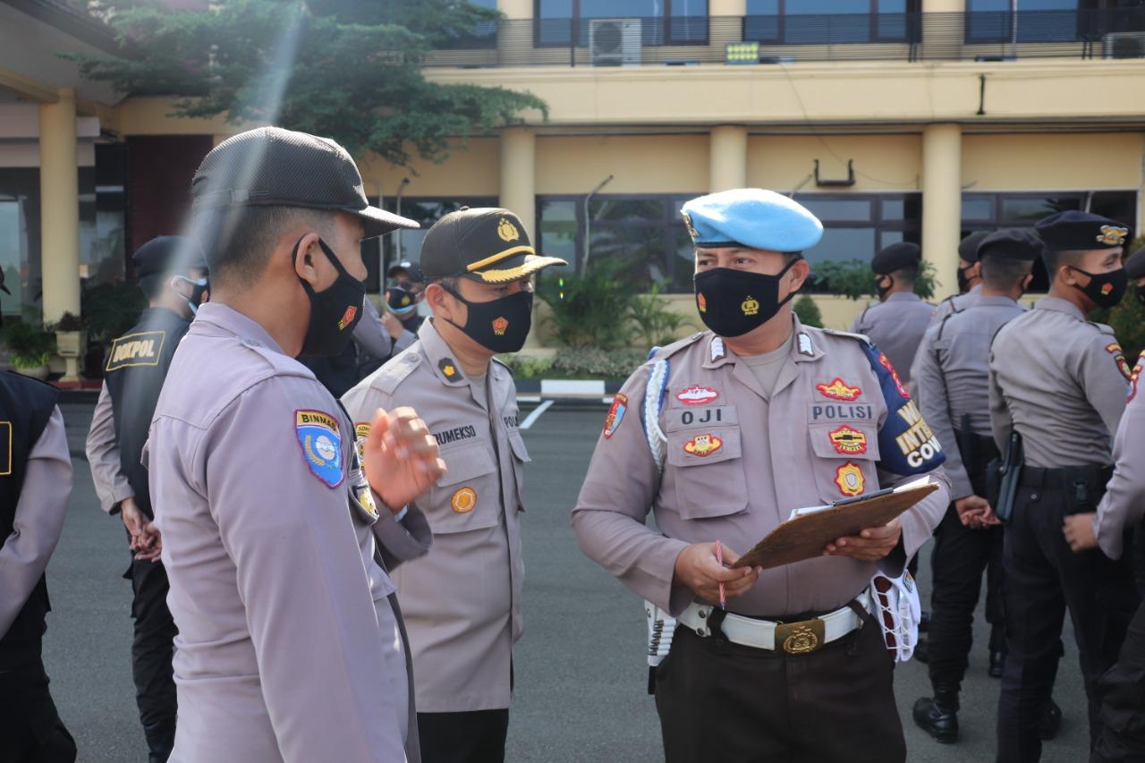 Hadapi Libur Panjang, Polda Banten Gelar Apel Kesiap siagaan Personil