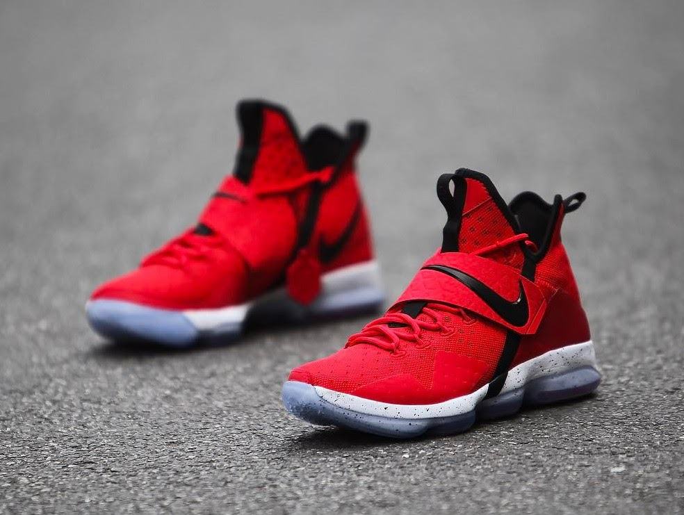 ... Nike LeBron 14 University Red Release Date ...