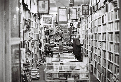 Nothing beats a bookstore