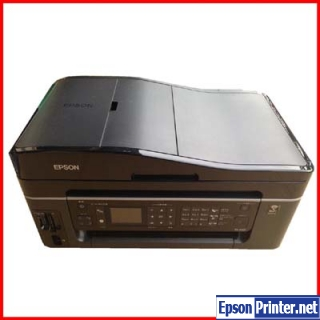 How to reset Epson PX-602F printer