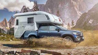 Mercedes-Benz X-Class pickup camper concept