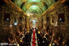 Foto 2654. Marcadores: 11/06/2010, Casamento Camille e Paulo, Igreja, Igreja Nossa Senhora Monte do Carmo, Rio de Janeiro