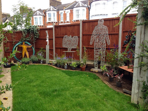 Sculpture garden, randy Klein