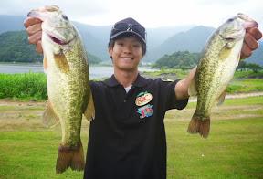 7位:川島拓郎プロ(4本 1520g)
