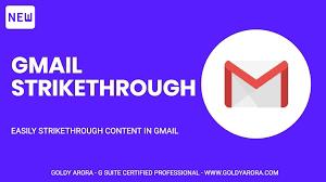 Cara Membuat Gmail Strikethrough - Trik Sederhana Dan Mudah