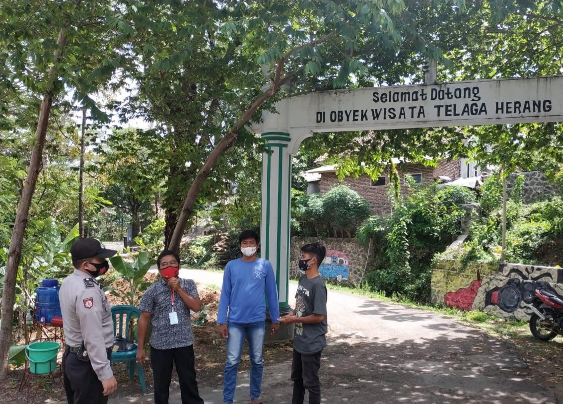 Polres Majalengka Polda Jabar Kontrol Obyek Wisata Guna Sosialisasikan 3M