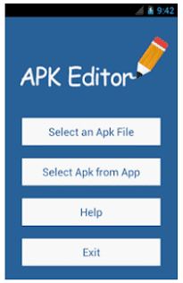 use apk editor pro to hack games