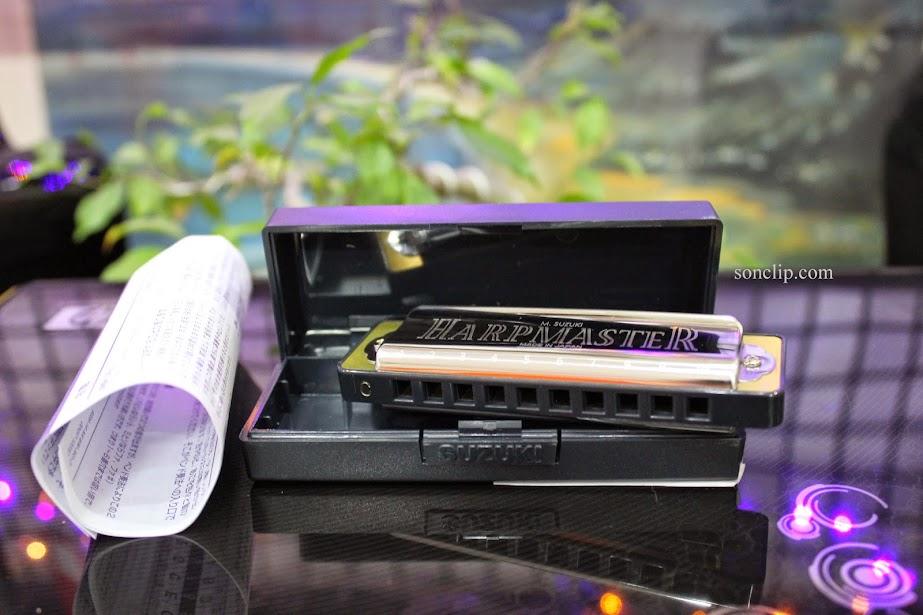 Kèn Harmonica - Suzuki HarpMaster MR-200 (key G)