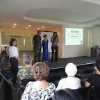 Workshop da Memoria, no Forte de Copacabana Pre-congresso do VIII Congresso Iberoamericano de Alzheimer Coronel Wanzeller, Aparecida Guimaraes (APAZ) e Dra. Tania Guerreiro 14 de outubro de 2015