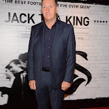 WWW.ENTSIMAGES.COM -     Huw Jenkins Swansea City Football Club Chairman arriving at      THE UK PREMIERE OF (JACK TO A KING) THE SWANSEA STORY at EMPIRE, LEICESTER SQUARE London September 12th 2014.The movie of Swansea City's rise from near extinction to the top of the Premier League                                                 Photo Mobis Photos/OIC 0203 174 1069