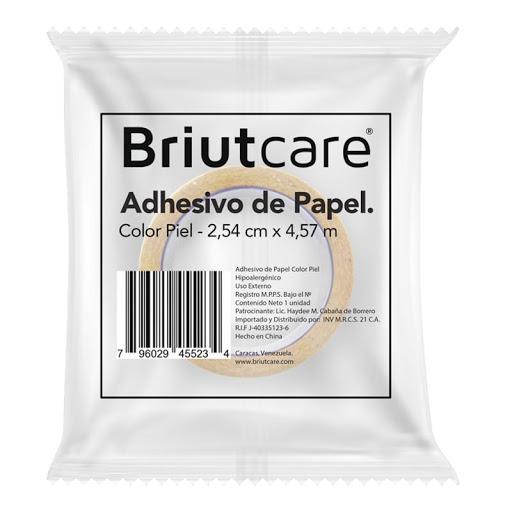Adhesivo Papel Color Piel Briutcare 1unidad