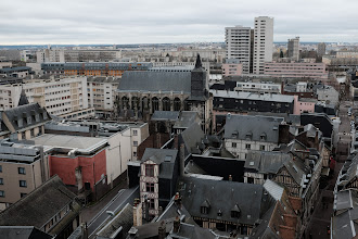 Photo: Rouen rooftops