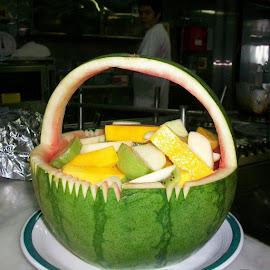 Watermelon Fruit Cocktails by Florante Lamando - Food & Drink Fruits & Vegetables ( salad, fruit, cocktail )