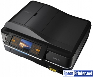 How to reset Epson PX810FW with software