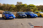 Subaru Impreza and Renault Clio Williams