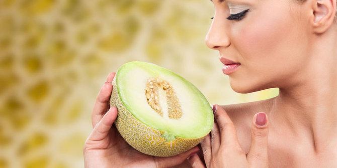 4 Khasiat Melon UntukKulit Sehat Alami
