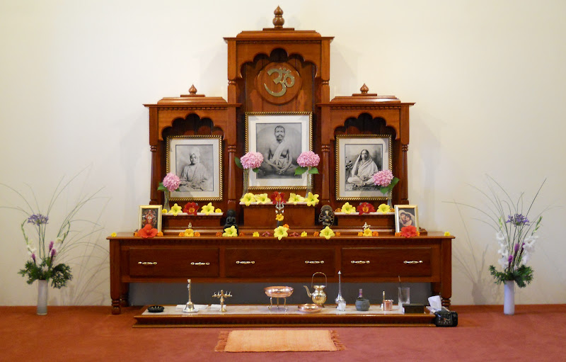 The altar on June 26, 2011
