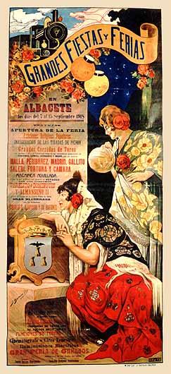 Cartel Feria Albacete 1918
