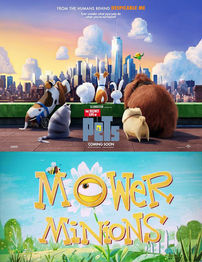 Mower Minions - Minions Cắt Cỏ