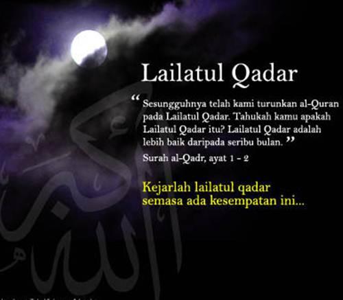 Tanda Dan Hikmah Malam Lailatul Qadar 2012   melvister.com
