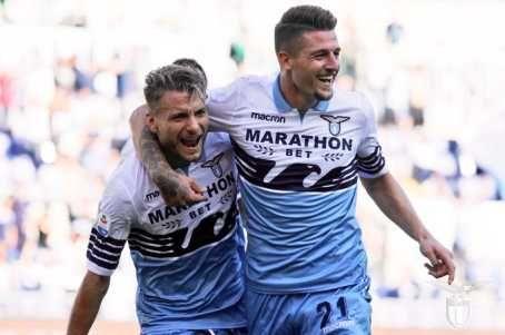 Lazio Stars Ciro Immobile And Sergej Milinković-Savić Sign New