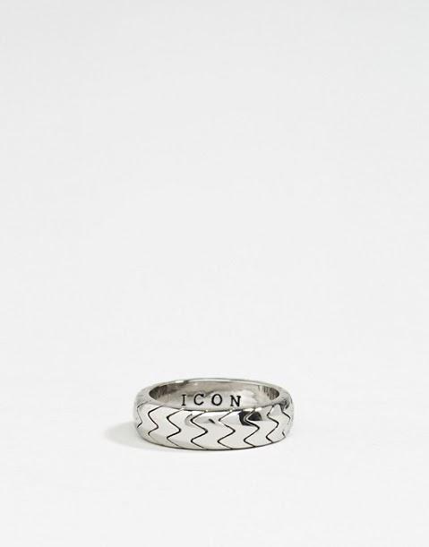 Мужское кольцо  asos