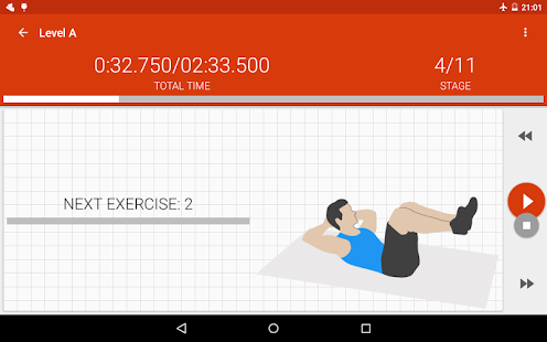Abs workout II PRO- screenshot thumbnail
