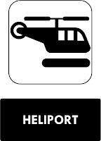Rambu Heliport