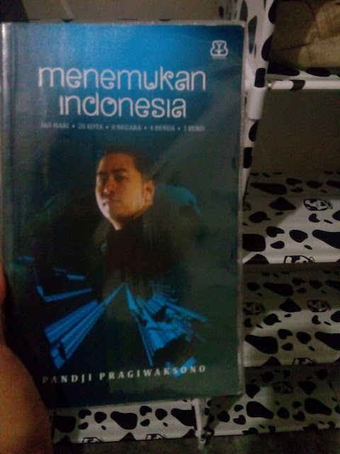 Menemukan Indonesia, Perjalanan  Cinta Tanah Air Panji Pragiwaksono