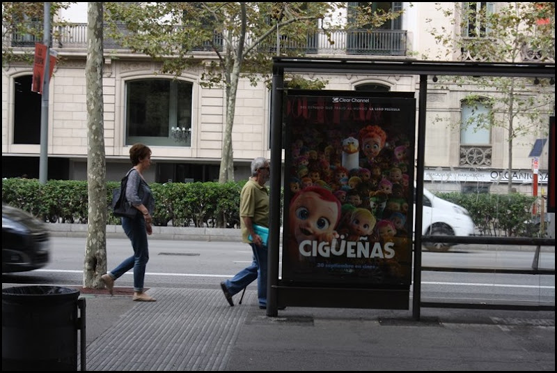 Barceona bus stop
