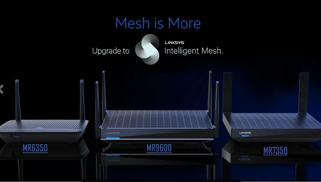 Linksys ไม่หยุดนิ่งเดินหน้าเปิดตัว เราเตอร์ใหม่ล่าสุด 3 รุ่นในตระกูล MR จัดสปีดเต็มกำลังด้วยเทคโนโลยี Intelligent Mesh และ WiFi 6ครอบคลุมการใช้งานถึง 3,000 ตารางฟุต / 280 ตารางเมตร