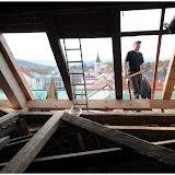 Oprava krovu a střechy kostela - 1.11.2014