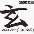 occult black - tattoos ideas
