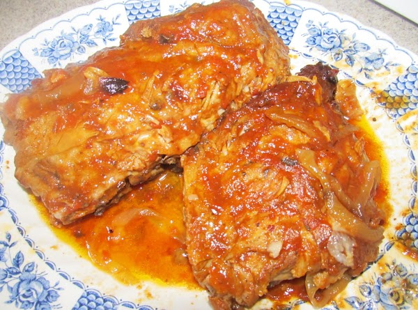 Plate up and serve.  Moist and tender